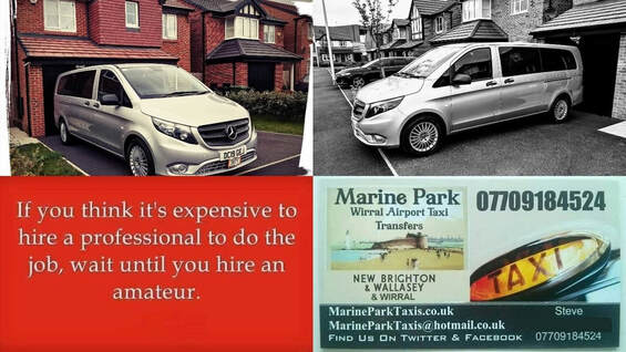 wallasey birkenhead wirral airport executive minibus taxi transfers